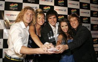 TeenAngels en los Premios 40 principales