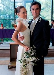 Escenas de boda de Valentina y Sebastián