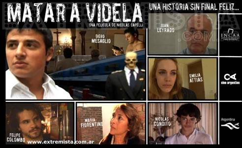 Emilia Attias en Matar a Videla