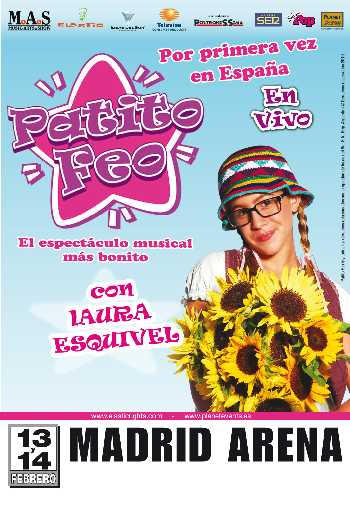 """Patito Feo, El Musical"" en Madrid"