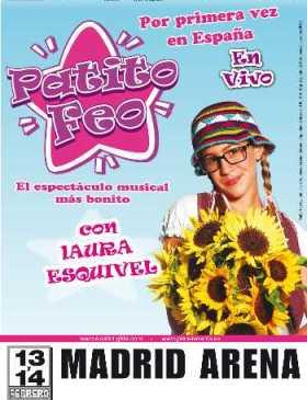 Patito Feo en vivo en Madrid 2010
