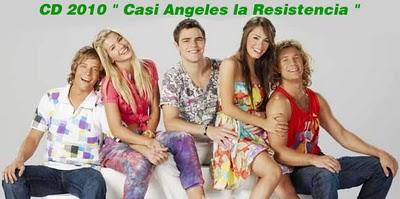 Posible lista de temas de Casi Ángeles 2010