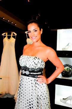 Gaby Espino es la imagen de Rosa Clará