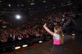 Laura Esquivel en el Arena deMadrid[1]
