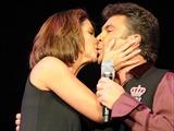 Lucero y Manuel Mijares se besaron