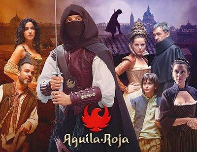 """Aguila Roja"" se emitirá  en Francia"