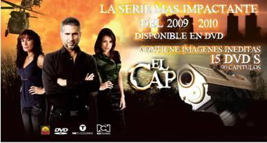 El DVD de 'El Capo' es top de ventas en Colombia