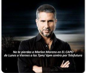"""Marlon Moreno triunfa en EUA con """"El capo"""""""