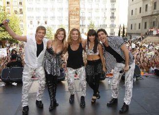 Los TeenAngels participaron de un mega concierto