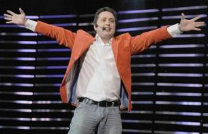 Andrés López presentador de El Festival Internacional del Humor