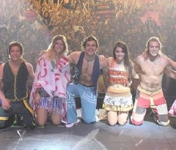 Teen Angels en la gala de los nominados