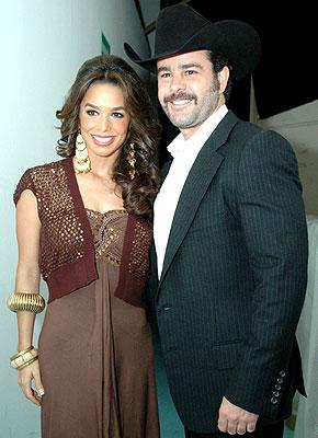 Bibi Gaytán y Eduardo Capetillo