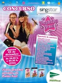 Concurso SingStar Live Patito Feo