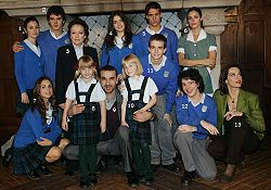 El Internado - elenco