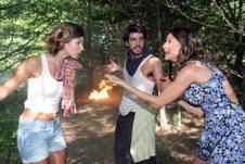 """Lucas intenta parar el incendio en """"Herederos de una venganza"""""""