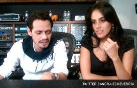 Marc Anthony y Sandra Echeverría cantan juntos
