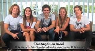 Agenda a full de Teen Angels