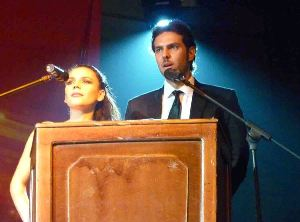 Carolina Gaitan y Juan Alfonso Baptista