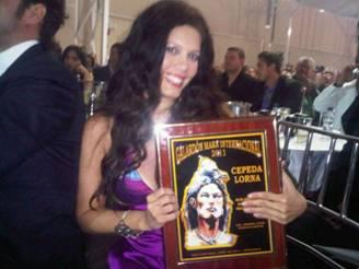 Lorna Cepeda y Alejandro Aguilar ganadores en 'Mara de Oro'