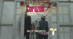 """""""Mi corazón insiste… en Lola Volcán"""" inicia grabaciones"""