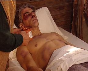"""Andrés herido en """"El Elegido"""""""