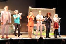 """Fotos de """"Los Únicos"""" en el teatro"""