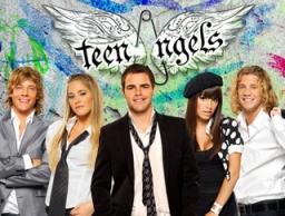 """Los TeenAngels en lanzamiento del nuevo canal """"Yups"""""""