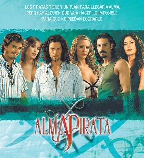 """Alma Pirata"" se emite por Telefe"
