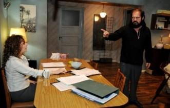 """Gitano discute con Clara en """"El Puntero"""""""