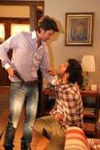 """Benicio le dispara a Lucas en """"Herederos…"""""""