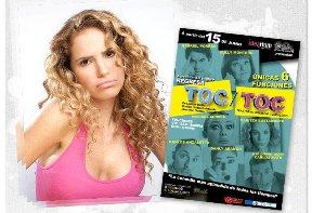 """Maritza Bustamante en """"Toc Toc """""""
