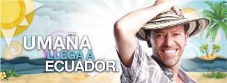 ¿Dónde diablos está Umaña? llega a Ecuador