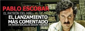 """""""Pablo Escobar, el patrón del mal"""", lo más comentado"""