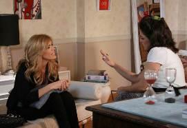 """Viviana Canosa grabó en """"Graduados"""""""