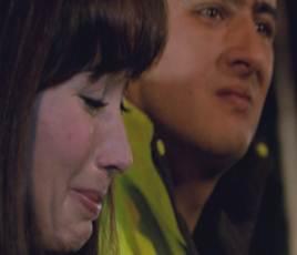 """Raúl y Diana en """"Corazones blindados"""""""